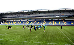 Worcester Warriors in training at Sixways ahead of their Premiership fixture with Bristol Rugby - Mandatory by-line: Robbie Stephenson/JMP - 28/02/2017 - RUGBY - Sixways Stadium - Worcester, England - Worcester Warriors Training - 28/02/17