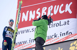 Martin Koch of Austria after he competed during Final round of the FIS Ski Jumping World Cup event of the 58th Four Hills ski jumping tournament, on January 3, 2010 in Bergisel, Innsbruck, Austria.(Photo by Vid Ponikvar / Sportida)