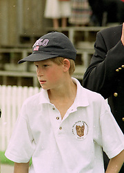 HRH PRINCE HARRY at a polo match in Cirencester on 6th July 1997. MAA 38