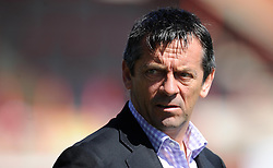 Southend United Manager, Phil Brown - Photo mandatory by-line: Harry Trump/JMP - Mobile: 07966 386802 - 18/04/15 - SPORT - FOOTBALL - Sky Bet League Two - Exeter City v Southend United - St James Park, Exeter, England.