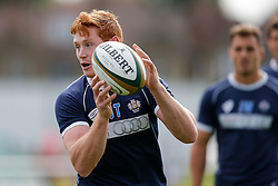 Bristol Rugby Outside Centre Jack Tovey warms up - Mandatory byline: Rogan Thomson/JMP - 07966 386802 - 13/09/2015 - RUGBY UNION - Old Deer Park - Richmond, London, England - London Welsh v Bristol Rugby - Greene King IPA Championship.