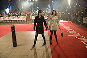 Sophie Ellis Bextor; Richard Jones, The European Film Premiere of 'Revolutionary Road' at the Odeon Leicester Square. London.18 January  2009 *** Local Caption *** -DO NOT ARCHIVE -Copyright Photograph by Dafydd Jones. 248 Clapham Rd. London SW9 0PZ. Tel 0207 820 0771. www.dafjones.com<br /> Sophie Ellis Bextor; Richard Jones, The European Film Premiere of 'Revolutionary Road' at the Odeon Leicester Square. London.18 January  2009