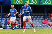 Ronan Curtis (11) of Portsmouth during the EFL Sky Bet League 1 Play Off leg 1 of 2 match between Portsmouth and Oxford United at Fratton Park, Portsmouth, England on 3 July 2020.