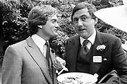 Charles Delevigne; the Marquess of Northampton, Dempster lunch party, Ascot. June 1982,