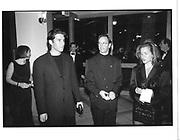 Herb Ritts. Vanity Fair Oscar night party. Morton's. Los Angeles. 1997 approx. © Copyright Photograph by Dafydd Jones 66 Stockwell Park Rd. London SW9 0DA Tel 020 7733 0108 www.dafjones.com