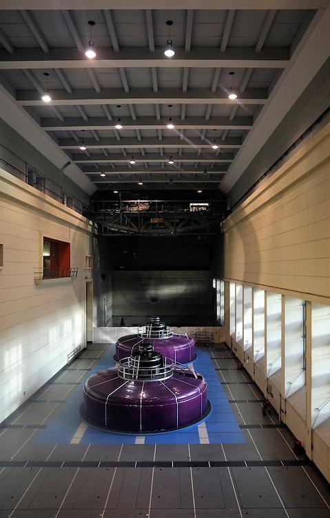 15/12/07 - BORT LES ORGUES - CORREZE - FRANCE - Turbine du barrage de Bort les Orgues - Photo Jerome CHABANNE