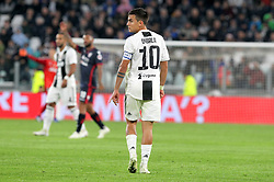 November 3, 2018 - Turin, Piedmont, Italy - Paulo Dybala (Juventus FC) during the Serie A football match between Juventus FC and Cagliari Calcio at Allianz Stadium on November 03, 2018 in Turin, Italy. Juventus won 3-1 over Cagliari. (Credit Image: © Massimiliano Ferraro/NurPhoto via ZUMA Press)