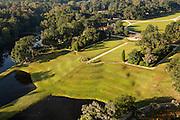 Aerial view of Middleton Place plantation Charleston, South Carolina.