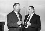 30/7/1964<br /> 7/30/1964<br /> 30 July 1964<br /> <br /> The presentation of the Beamish and Crawford check to the Judo Association