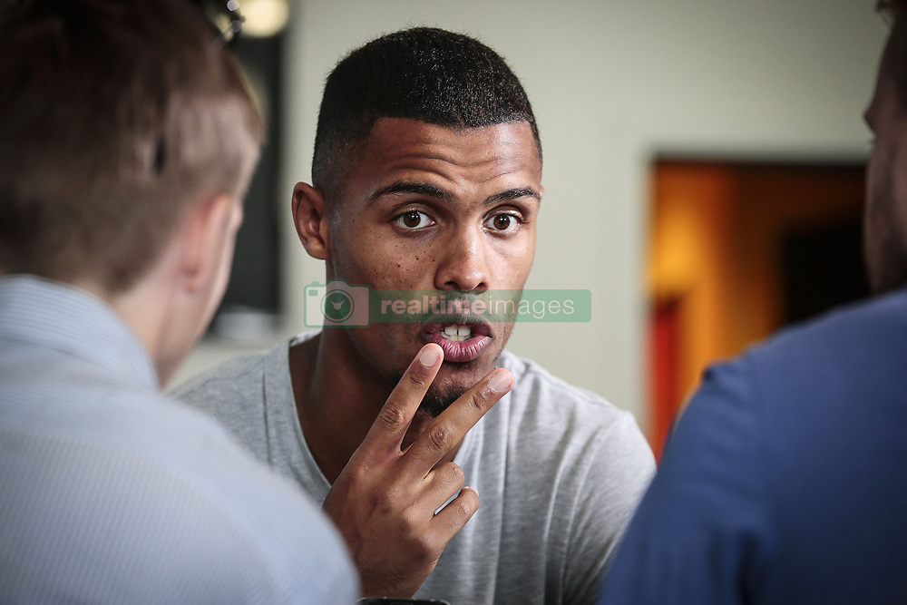 August 24, 2017 - France - presentation of Zinho Gano as a new player of KV Oostende (Credit Image: © Panoramic via ZUMA Press)