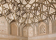 Muqarnas (decorative corbel) Jameh mosque in Nain, Iran