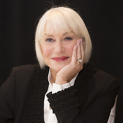 December 3, 2016 - New York, New York, U.S. - HELEN MIRREN promotes the movie 'Collateral Beauty.' Dame Helen Lydia Mirren DBE (Mironoff; born July 26, 1945) is an English actress. Mirren began her acting career with the Royal Shakespeare Company in 1967, and is one of the few performers who have achieved the Triple Crown of Acting, having won the Academy Award for Best Actress in 2007, after two previous nominations, for her performance as Queen Elizabeth II in The Queen. She received an Olivier Award for Best Actress in 2013 for her West End performance in The Audience, in which she also portrayed Elizabeth II, and in 2015 she won the Tony Award for Best Actress in a Play for her Broadway performance in the play. The Audience was written by Peter Morgan, who also wrote The Queen. Mirren won three consecutive BAFTA Awards for Best Actress between 1992 and 1994 and her first of several Emmy Awards in 1996 for her performance as police detective Jane Tennison on the British television series Prime Suspect, which ran for seven seasons between 1991 and 2006.In 2003, she was appointed a Dame Commander of the Order of the British Empire (DBE) for Services to the Performing Arts. In 2013, Mirren was awarded a star on the Hollywood Walk of Fame, and in 2014, BAFTA announced that Mirren would be the recipient of the Academy Fellowship. (Credit Image: © Armando Gallo via ZUMA Studio)