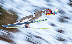 17.12.2016, Nordische Arena, Ramsau, AUT, FIS Weltcup Nordische Kombination, Skisprung, im Bild Samuel Costa (ITA) // Samuel Costa of Italy during Skijumping Competition of FIS Nordic Combined World Cup, at the Nordic Arena in Ramsau, Austria on 2016/12/17. EXPA Pictures © 2016, PhotoCredit: EXPA/ JFK