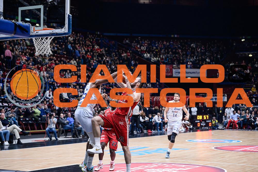 DESCRIZIONE : Milano Lega A 2015-16 <br /> GIOCATORE : Krunoslav Simon<br /> CATEGORIA : Tiro<br /> SQUADRA : Olimpia EA7 Emporio Armani Milano<br /> EVENTO : Campionato Lega A 2015-2016<br /> GARA : Olimpia EA7 Emporio Armani Milano Enel Brindisi<br /> DATA : 20/12/2015<br /> SPORT : Pallacanestro<br /> AUTORE : Agenzia Ciamillo-Castoria/M.Ozbot<br /> Galleria : Lega Basket A 2015-2016 <br /> Fotonotizia: Milano Lega A 2015-16