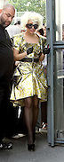 09.SEPTEMBER.2009 - PARIS<br /> <br /> LADY GAGA OUT AND ABOUT IN PARIS WEARING A GOLD DRESS.<br /> <br /> BYLINE: EDBIMAGEARCHIVE.COM<br /> <br /> *THIS IMAGE IS STRICTLY FOR UK NEWSPAPERS &amp; MAGAZINES ONLY*<br /> *FOR WORLDWIDE SALES &amp; WEB USE PLEASE CONTACT EDBIMAGEARCHIVE - 0208 954 5968*