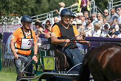 Timmerman Theo, (NED), Boy, Champ, Dani, Lex<br /> Marathon Driving Competition<br /> FEI European Championships - Aachen 2015<br /> © Hippo Foto - Dirk Caremans<br /> 22/08/15