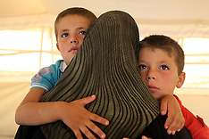 SEP 01 2013 Refugees  in Jordan