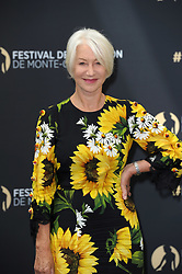 "Helen Mirren poses for ""Chrystal Nimph"" long life award during 57th Monte Carlo Television Festival. 20 Jun 2017 Pictured: Helen Mirren. Photo credit: maximon / MEGA TheMegaAgency.com +1 888 505 6342"