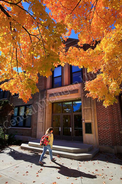 Fall scenics at Central Michigan University. Photo by Steve Jessmore/Central Michigan University