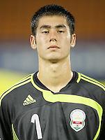 Fussball International U17 WM Korea  Tajikistian - USA Farrukh Berdiev (TJK)