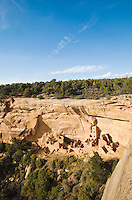 Square Tower House in Mesa Verde National Park, Colorado, USA.