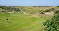 DOMBURG - green van hole 8/17 van de Domburgsche Golf Club in Zeeland (Walcheren) .  COPYRIGHT KOEN SUYK