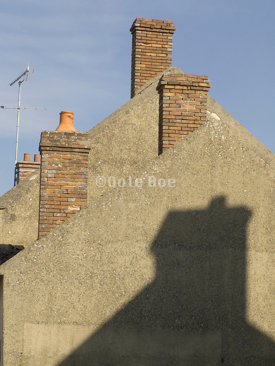 Chimneys and shadow