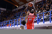 Christian Eyenga<br /> Enel New Basket Brindisi - Openjobmetis Pallacanestro Varese<br /> Lega Basket Serie A 2016/2017<br /> Brindisi 12/02/2017<br /> Foto Ciamillo-Castoria