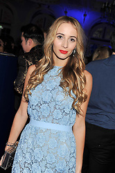 HARLEY VIERA-NEWTON at the Warner Music Group Post Brit Awards Party in Association with Samsung held at The Savoy, London on 20th February 2013.