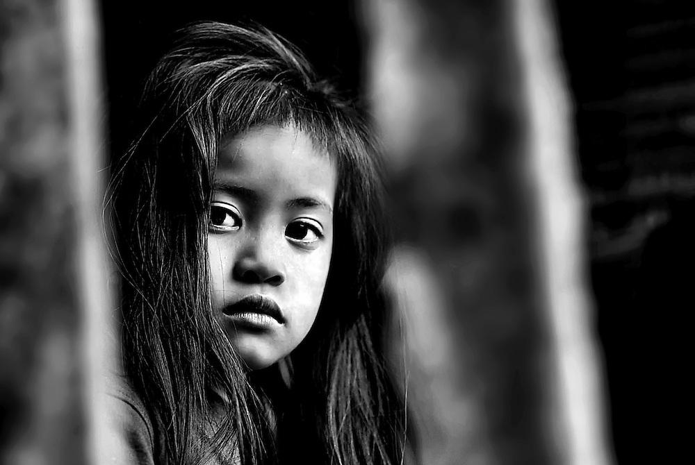 A girl in Hongsa, Laos.