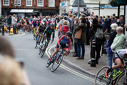 Ane Santesteban Gonzalez (ESP) of WNT Rotor Pro Cycling rides through Wantage on Stage 3 of 2019 OVO Women's Tour, a 145.1 km road race from Henley-on-Thames to Blenheim Palace, United Kingdom on June 12, 2019. Photo by Balint Hamvas/velofocus.com