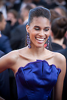 Cindy Bruna at the gala screening for the film Julieta at the 69th Cannes Film Festival, Tuesday 17th May 2016, Cannes, France. Photography: Doreen Kennedy