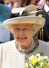 MAY 06 2014 The Queen and Duke of Edinburgh at Chelmsford Cathedral