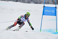 KREZEL Maciej Guide: OGARZYNSKA Anna, B3, POL at 2018 World Para Alpine Skiing Cup, Kranjska Gora, Slovenia