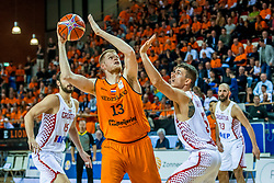 24-11-2017 NED: WC qualification Netherlands - Croatia, Almere<br /> First Round - Group D at the arena Topsportcentrum / Roeland Schaftenaar #13 of Netherlands