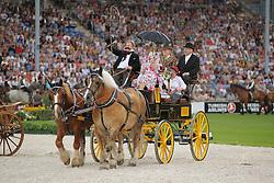 Opening ceremony<br /> European Championships - Aachen 2015<br /> © Hippo Foto - Stefan Lafrentz
