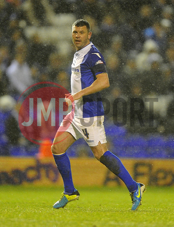 Birmingham City's Paul Robinson - Photo mandatory by-line: Joe Meredith/JMP - Tel: Mobile: 07966 386802 14/01/2014 - SPORT - FOOTBALL - St Andrew's Stadium - Birmingham - Birmingham City v Bristol Rovers - FA Cup - Third Round