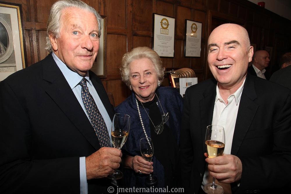Anthony Barton (proprietor), Eva Barton, Ged Doherty (Sony Music)