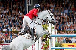 Roosbroeck, Catherine van (BEL) Gautcho da Quinta<br /> Aachen - CHIO 2017<br /> © www.sportfotos-lafrentz.de/Stefan Lafrentz