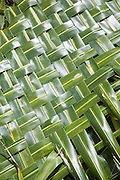 Coconut mat, Fakarava, Tuamotu Islands, French Polynesia<br />