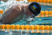 Andreii Govorov (UKR) competes on Men's 50 m Butterfly during the French Open 2018, at Aquatic Center Odyssée in Chartres, France on July 7th to 8th, 2018 - Photo Stephane Kempinaire / KMSP / ProSportsImages / DPPI