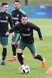 March 20, 2018 - Lisbon, Lisbon, Portugal - Portugal defender Cedric Soares during training session at Cidade do Futebol training camp in Oeiras, outskirts of Lisbon, on March 20, 2018 ahead of the friendly football match in Zurich against Egypt on March 23. (Credit Image: © Dpi/NurPhoto via ZUMA Press)