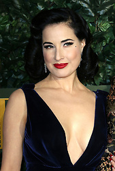 © Licensed to London News Pictures. 13/11/2016. London, UK, Dita Von Teese, Evening Standard Theatre Awards, Photo credit: Richard Goldschmidt/LNP