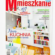 M jak Mieszkanie interior magazine publications