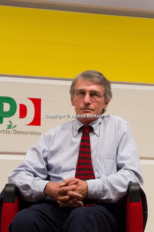 Bologna 04 settembre 2014 - Festa De L'Unità - Dibattito: Cittadini e Istituzioni protagonisti del cambiamento. Nella foto David Sassoli
