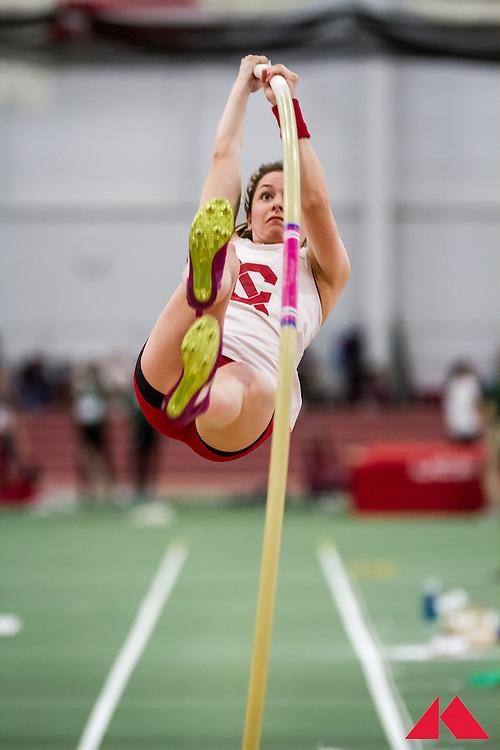 ECAC Indoor Champs, womens pole vault, Cornell