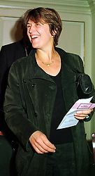 LADY WALDEGRAVE at a lunch in London on 15th October 1999.<br /> MXW 83