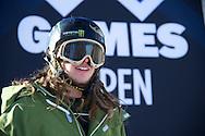 Henrik Harlaut during Men's Ski Slopestyle Practice at the 2013 X Games Aspen at Buttermilk Mountain in Aspen, CO.  Brett Wilhelm/ESPN