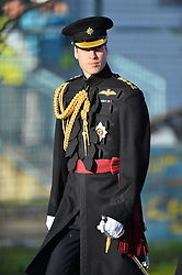 HRH The Duke of Cambridge to 1st Battalion Irish Guards. London, United Kingdom. Friday, 6th December 2013. Picture by Andrew Parsons / i-Images