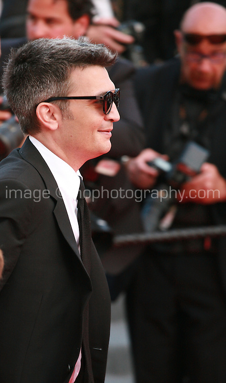 Thomas Langmann at the Two Days, One Night (Deux Jours, Une Nuit) gala screening red carpet at the 67th Cannes Film Festival France. Tuesday 20th May 2014 in Cannes Film Festival, France.